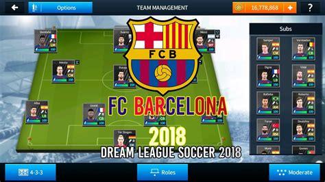 Hack Dream League Soccer Fc Barcelona 2018 Hack Dream League Soccer 2018 Hack