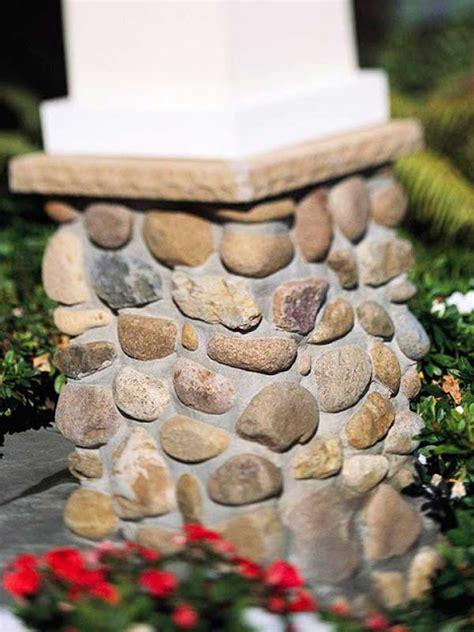 ide kreatif dekorasi rumah batu
