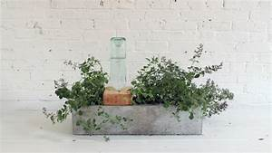 Bac A Fleur Balcon : jardini re b ton 24 id es pour un ext rieur moderne ~ Teatrodelosmanantiales.com Idées de Décoration