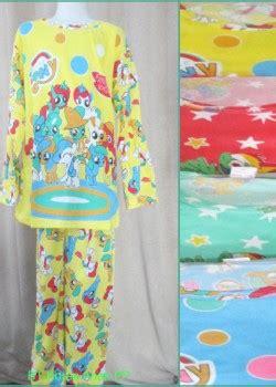 setelan pendek anak karakter grosir baju tidur murah 24rb katun korea