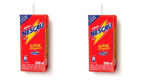 Nescau passa a ter canudos de papel em 100% de seu ...