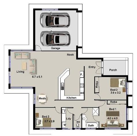 infomedia digital contoh denah rumah sederhana terpopuler