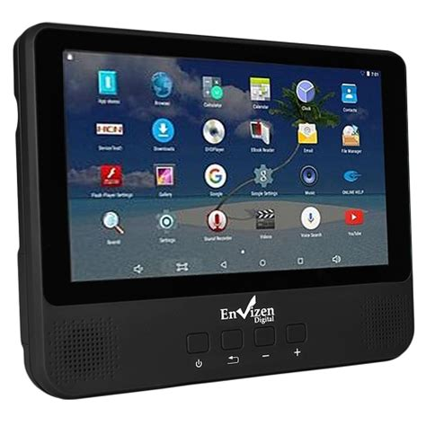android dvd player envizen 2 in 1 android tablet dvd player 1