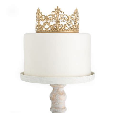 gold crown cake topper vintage crown small gold wedding