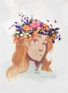Flower Crown Sauron by sycamoreleaf on DeviantArt