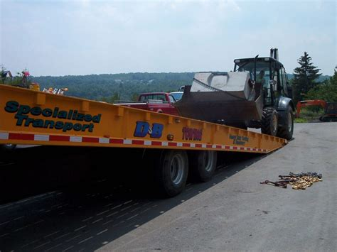 Towing And Hauling by Heavy Equipment Hauling D B Towing And Truck Service