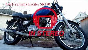 1981 Yamaha Sr250 Exciter Parts