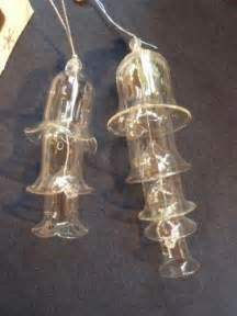 glass bell ornament ebay