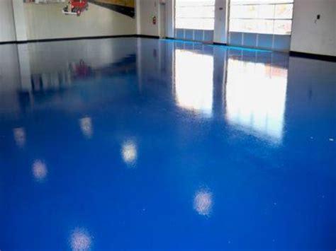 garage floor paint blue epoxy floors what you need to know boston concrete floor coatings flooring contractors