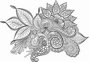 Mandala Ausmalbild Ausmalen Kostenlose Vektorgrafik Auf