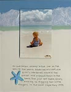 Beach Scrapbook Layout Ideas