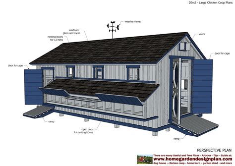 hen house plans home garden plans l310 large chicken coop plans chicken coop design how to build a