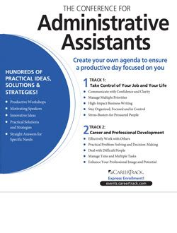 conference  administrative assistants secretary