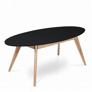 Table Basse Ovale Blanche : table basse ovale blanche idees de dcoration ~ Teatrodelosmanantiales.com Idées de Décoration