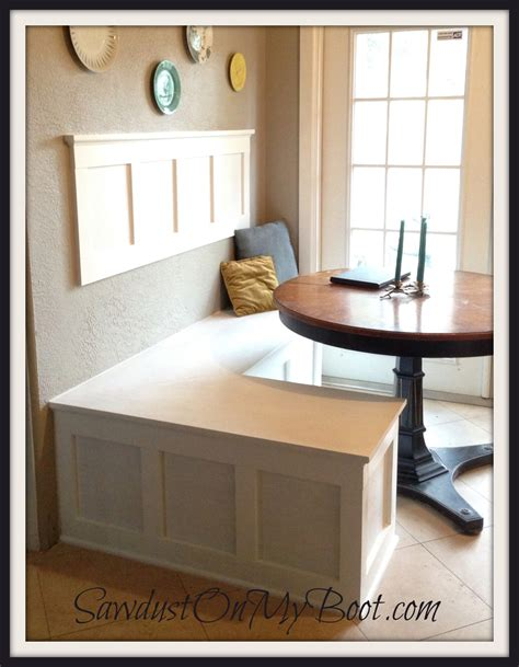 Ana White  Board & Batten Banquette  DIY Projects