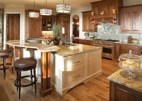 two level kitchen island designs 50 luxury kitchen island ideas 8606