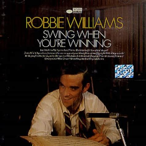 Robbie Williams Swing When You Re Winning by Robbie Williams Swing When You Re Winning Cd