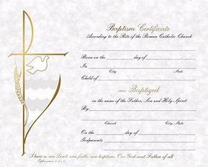 baptism certificates box of 50 certificates and envelopes With catholic baptism certificate template