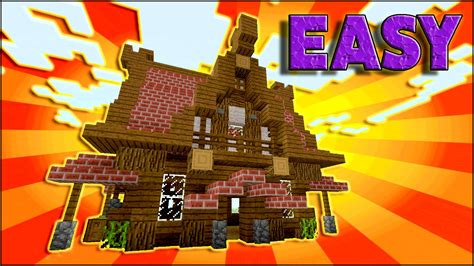 minecraft   build  medieval house tutorial small medieval house tutorial survival