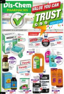 dischem specials catalogue  aug   sep