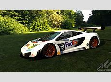 Fantasy 2014 Blancpain FedEx Racing McLaren pack
