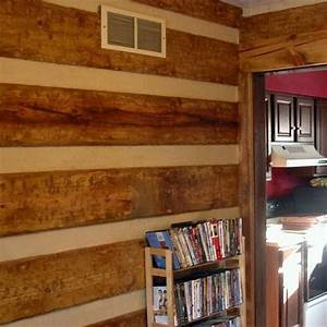 Log home interior wall ideas billingsblessingbagsorg for Interior paint colors for log cabins