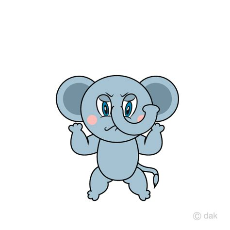 elephant clipart angry elephant angry transparent