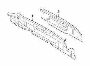 Ford Flex Rear Body Panel  Rear  Lower   Panel  Below Gate