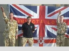 'Carry on' for British Army fascists