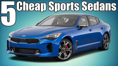 Cheap Sedans by 5 Cheap Modern Sports Sedans 10k 40k