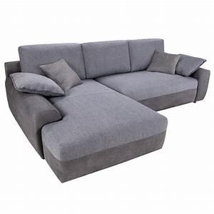 Sofa Mit Bettfunktion : wohnlandschaft hastings grau sofa ecksofa mit bettfunktion polstersofa ebay ~ Orissabook.com Haus und Dekorationen