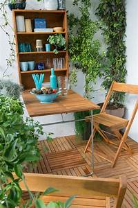 Table Balcon Pliante : 50 cozy balcony decorating ideas ~ Teatrodelosmanantiales.com Idées de Décoration