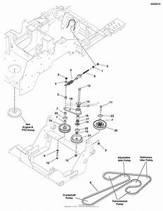 Simplicity 5901258  48 U0026quot  Mower Deck Parts Diagram
