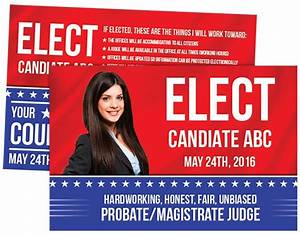 political postcards political marketing political With campaign mailer template