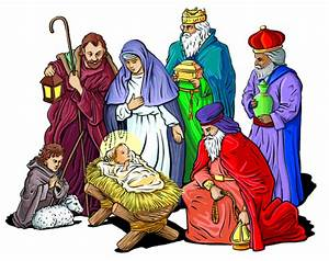 Religious Christmas Clipart - Free Holiday Graphics