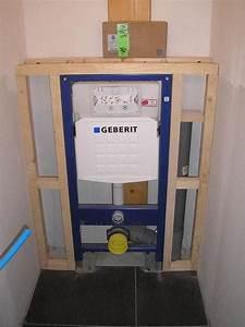 Plaque De Commande Wc Suspendu : habillage du wc suspendu lumithero ~ Dailycaller-alerts.com Idées de Décoration
