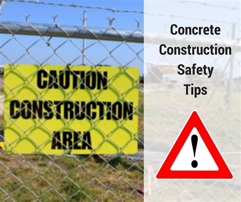 concrete forming tips safety tips for working with concrete forming america