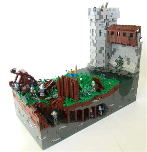 siege lego lego projects mocs on brickbuilt