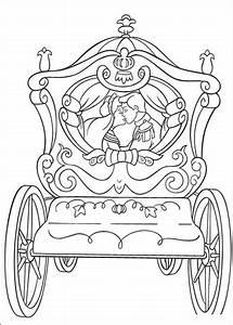 Ausmalbild Cinderella39s Hochzeitskutsche Ausmalbilder Kostenlos Zum Ausdrucken
