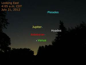 Venus and Jupiter This Morning, July 21, 2012 | When the ...