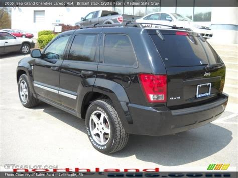 2005 grey jeep grand cherokee 2005 jeep grand cherokee laredo 4x4 in brilliant black