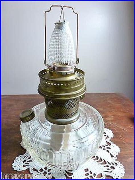 vintage aladdin crystal lincoln drape kerosene lamp 23