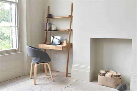 wooden leaning desk  oak futon company
