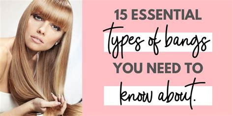 15 Different Types of Bangs You Should Know About in 2020