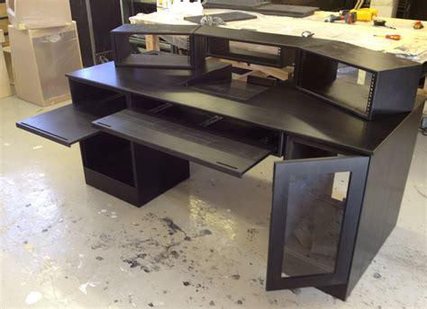 recording studio desk plans my diy recording studio desk home and interior design