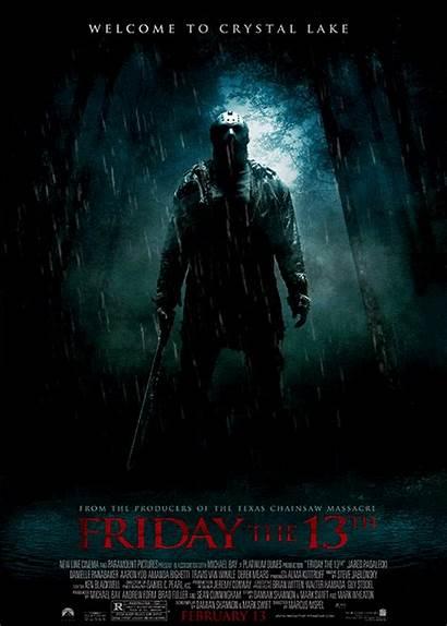13th Friday Horror Poster Jason Movies 2009