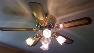 Quot crest series hugger cane ceiling fan