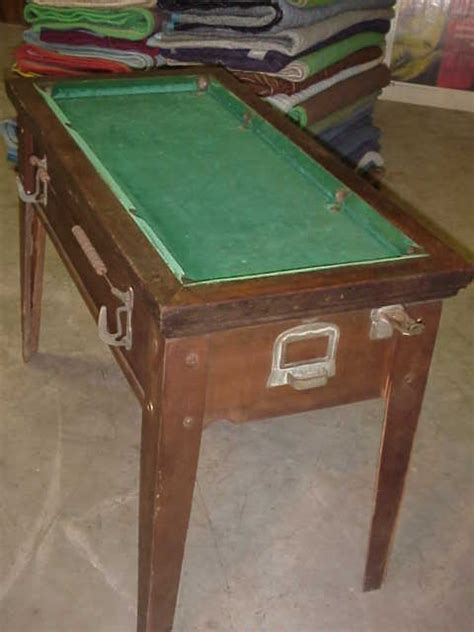 vending pool tables for sale pool table 1930 39 s 40 39 s coin operated gameroom show