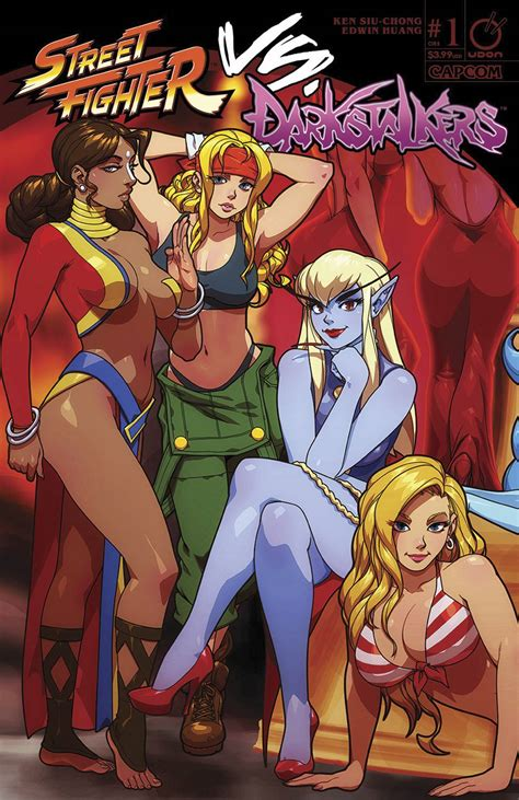 Street Fighter Vs Darkstalkers 1 Of 8 Cover B Porter