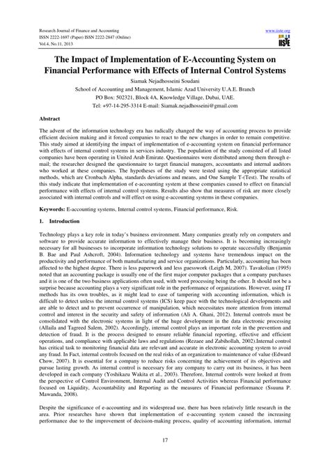 School Information System Thesis by Pdf The Impact Of Implementation Of E Accounting System